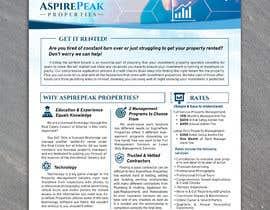 #94 for Eye Grabbing - Property Management Flyer - 30/01/2021 15:39 EST by gkhaus