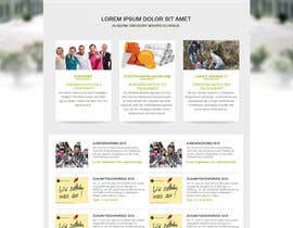 nº 11 pour Re-Design landingpage of a productive wordpress website par aryamaity