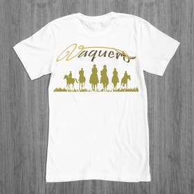 #11 for Design a T-Shirt for Vaquero clothing by ezaz09