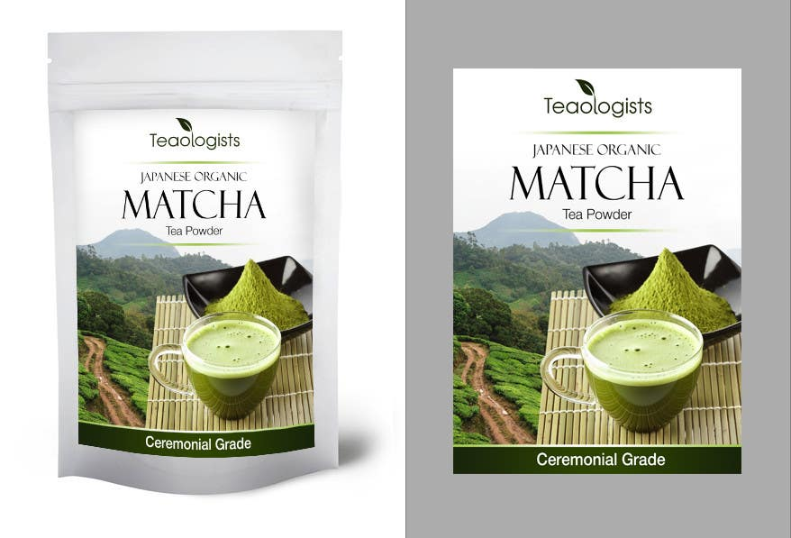 Penyertaan Peraduan #31 untuk Create Packaging Design for Matcha Tea Product