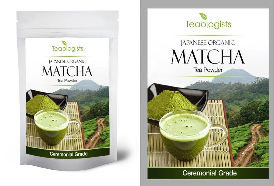 Penyertaan Peraduan #43 untuk Create Packaging Design for Matcha Tea Product