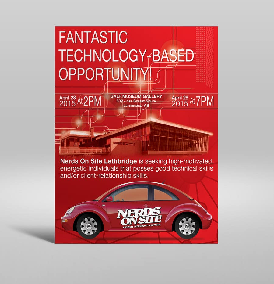 Penyertaan Peraduan #30 untuk Design a Flyer for a Job Fair
