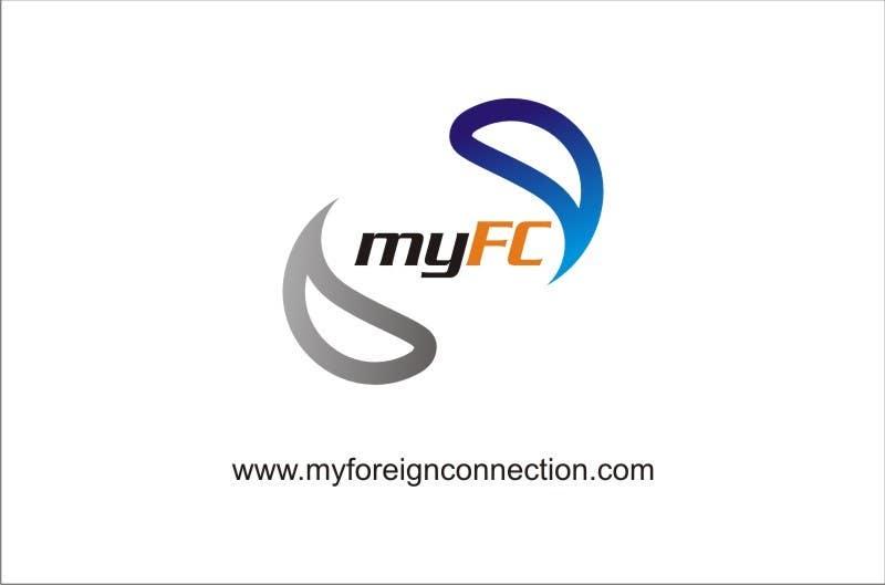 Inscrição nº 174 do Concurso para Logo Design for My Foreign Connection (MyFC)