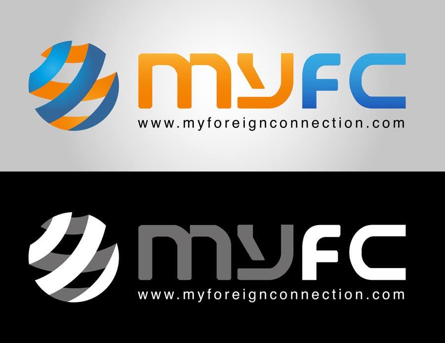 Inscrição nº 115 do Concurso para Logo Design for My Foreign Connection (MyFC)