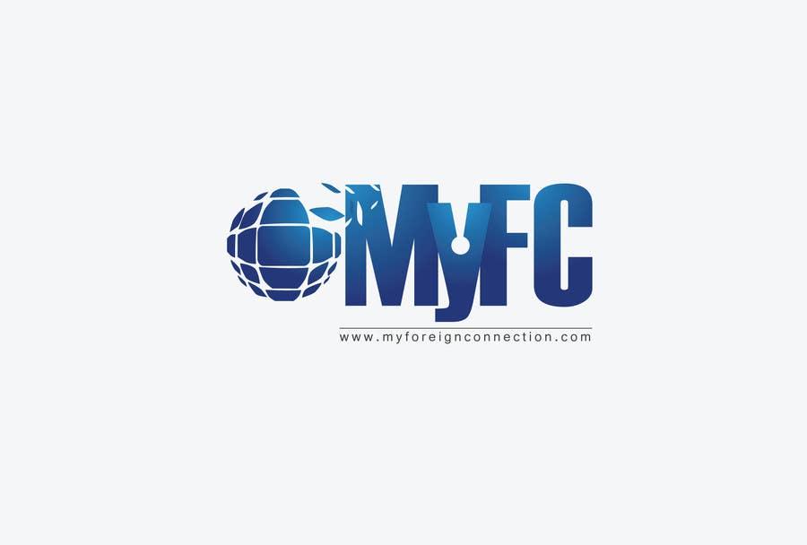 Inscrição nº 5 do Concurso para Logo Design for My Foreign Connection (MyFC)