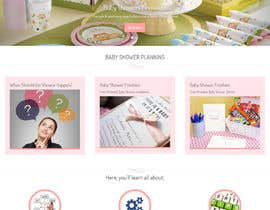 #1 for Design a Website Mockup for planyourbabyshower.com by Nurihah