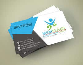 #68 for Design some Business Cards for Memplans by Dalii