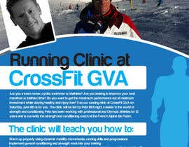 #18 for Advertisement Design for Running Clinic by bigredbox