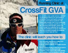 #22 for Advertisement Design for Running Clinic by bigredbox