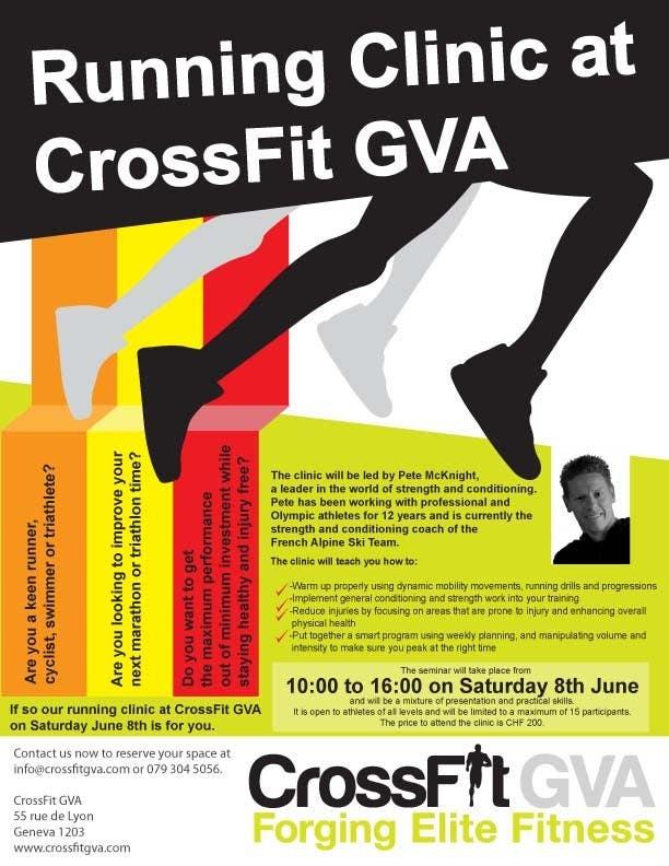 Inscrição nº                                         3                                      do Concurso para                                         Advertisement Design for Running Clinic