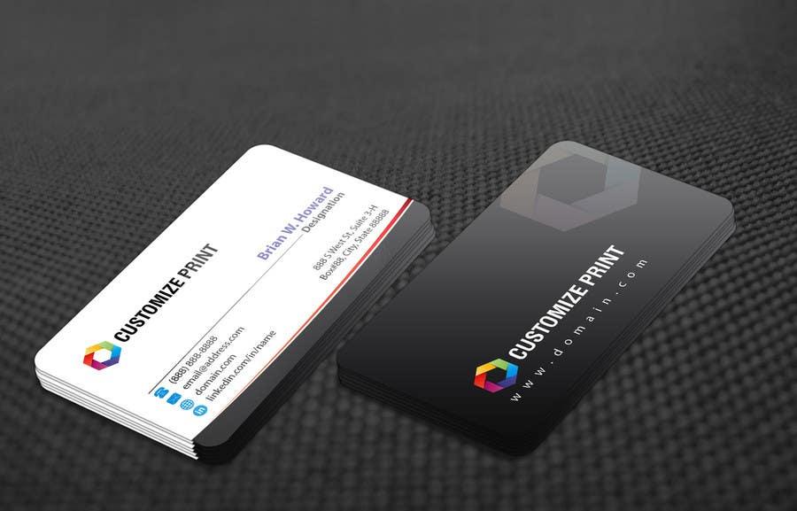 Konkurrenceindlæg #                                        70                                      for                                         Design Business Card With Logo