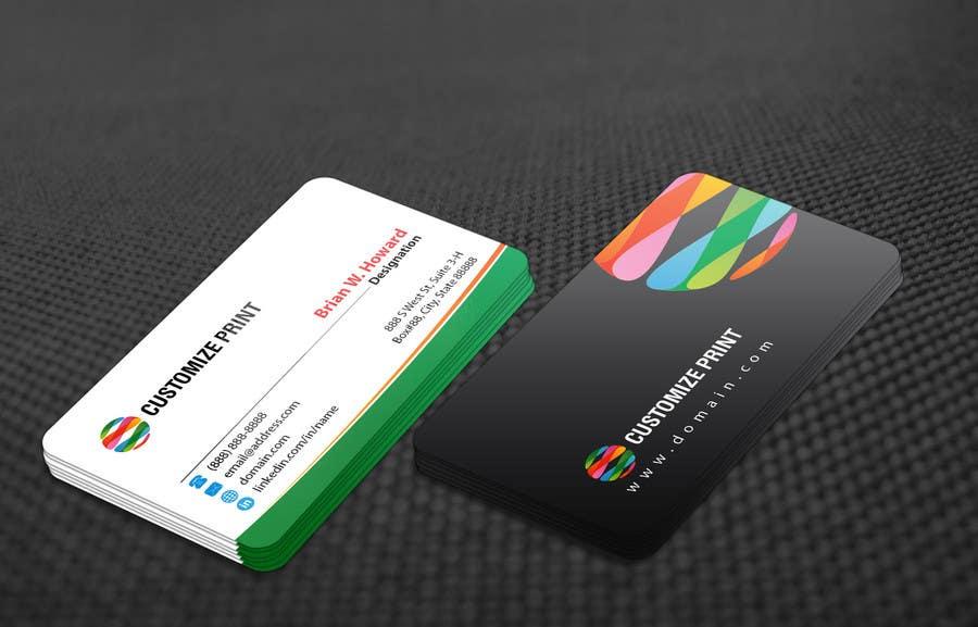 Inscrição nº 71 do Concurso para Design Business Card With Logo