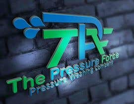 jericcaor tarafından Design a Logo for The Pressure Force - Pressure Washer Company için no 67