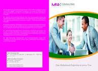 Graphic Design Konkurrenceindlæg #10 for Design a Single Fold Brochure for M2K Consulting