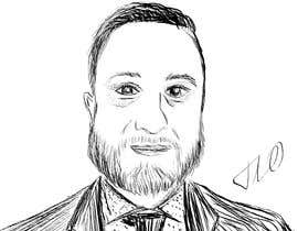 #82 para Ink Portrait Sketch (One Billable Hour @ $30/hour) (Ongoing Opportunity) por bobanlackovic