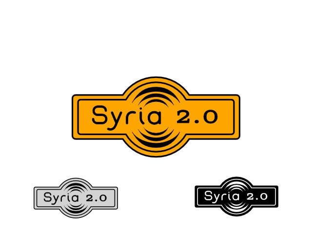 Penyertaan Peraduan #                                        74                                      untuk                                         Logo Design for Syria 2.0