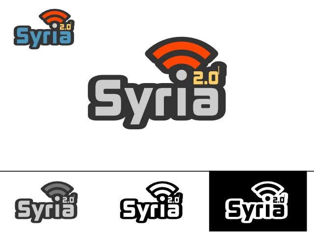 Penyertaan Peraduan #                                        75                                      untuk                                         Logo Design for Syria 2.0
