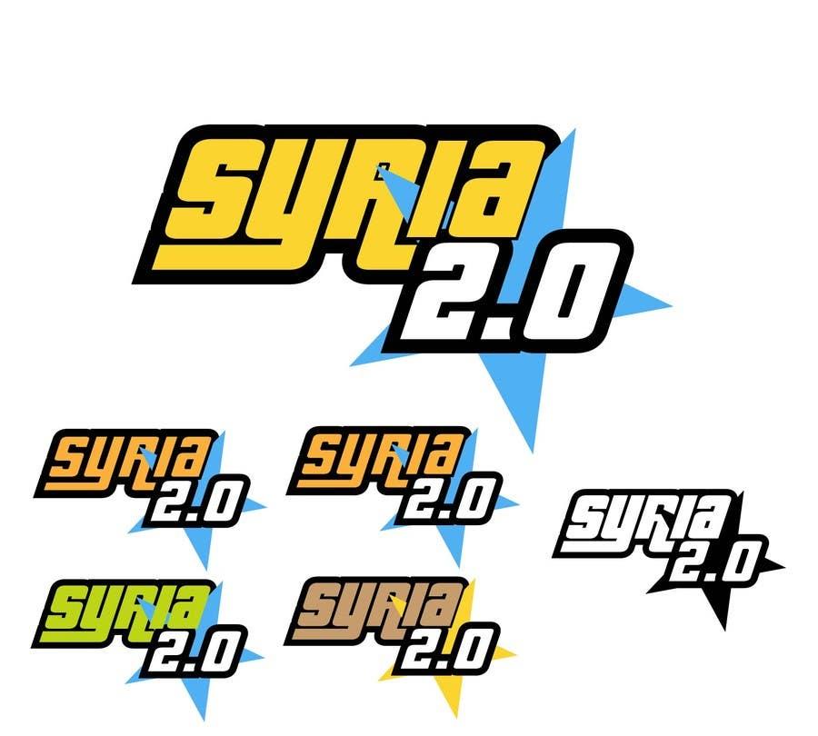 Penyertaan Peraduan #                                        164                                      untuk                                         Logo Design for Syria 2.0