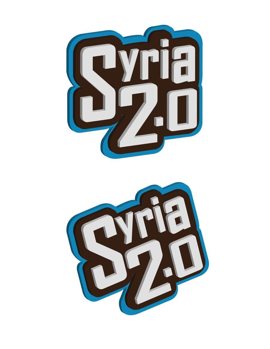 Penyertaan Peraduan #                                        117                                      untuk                                         Logo Design for Syria 2.0