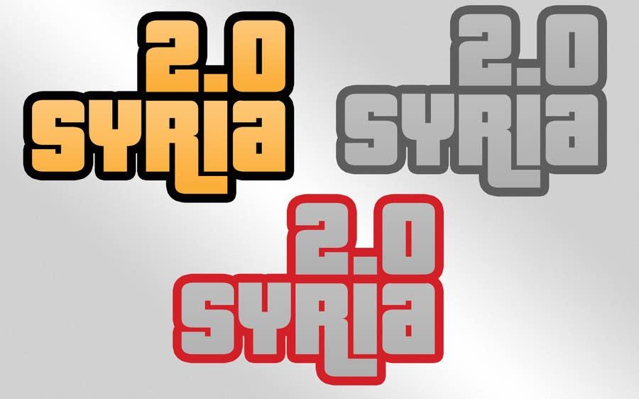 Penyertaan Peraduan #                                        80                                      untuk                                         Logo Design for Syria 2.0