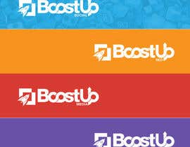 Cbox9 tarafından Design a Logo, business card and social media banner for BoostUp için no 267