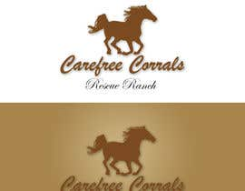 #28 cho Logo Design for Carefree Corrals, a non-profit horse rescue. bởi photogra