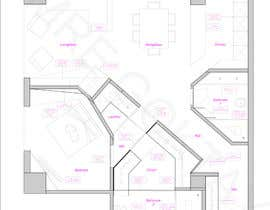 #40 for Floor plan/interior ideas for sub-penthouse condo (1000sq feet) af emregoktay