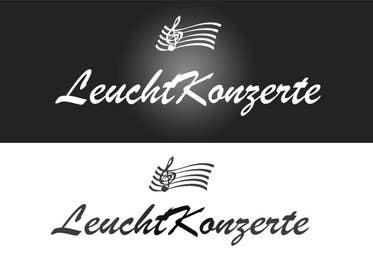 Nro 12 kilpailuun Design eines Logos für Leuchtkonzerte käyttäjältä linadenk