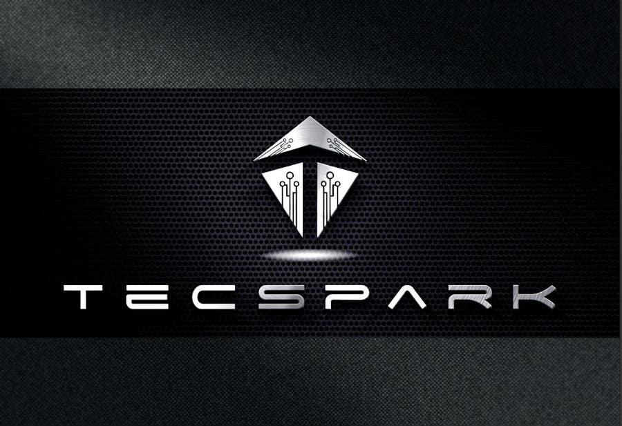 Konkurrenceindlæg #                                        128                                      for                                         TECSPARK Corporate Identity