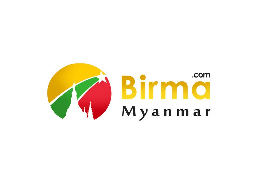 Inscrição nº                                         141                                      do Concurso para                                         Logo design for a travel website about Burma (Myanmar)