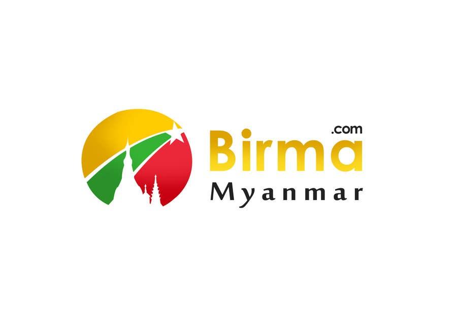 Konkurrenceindlæg #                                        141                                      for                                         Logo design for a travel website about Burma (Myanmar)