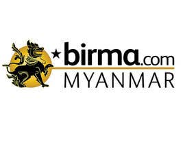 #205 for Logo design for a travel website about Burma (Myanmar) by humphreysmartin