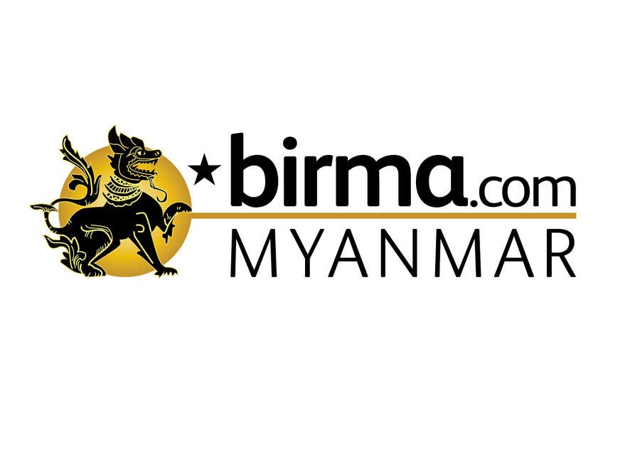 Konkurrenceindlæg #                                        206                                      for                                         Logo design for a travel website about Burma (Myanmar)