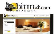 Graphic Design Konkurrenceindlæg #96 for Logo design for a travel website about Burma (Myanmar)