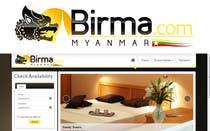 Graphic Design Konkurrenceindlæg #102 for Logo design for a travel website about Burma (Myanmar)