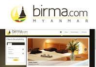 Graphic Design Konkurrenceindlæg #178 for Logo design for a travel website about Burma (Myanmar)