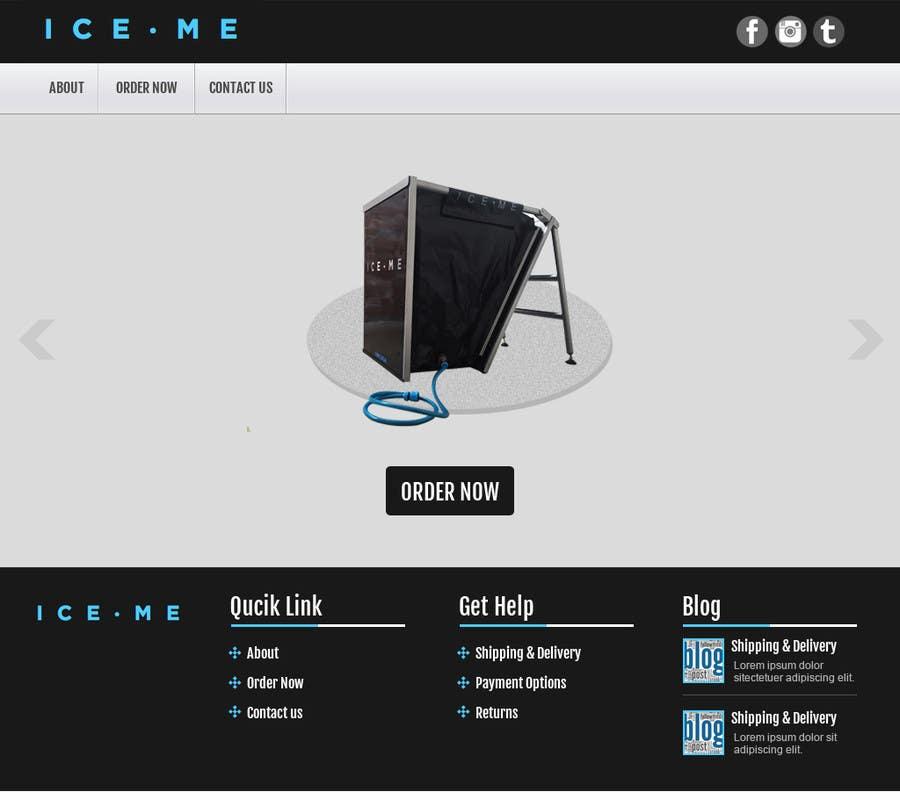 Proposition n°                                        20                                      du concours                                         Design Website based on Nike Homepage - Easy!