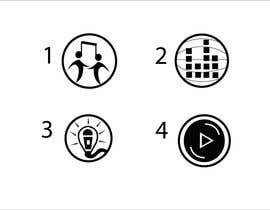#4 untuk Design some Icons for music collaboration website oleh Sameena22alavi