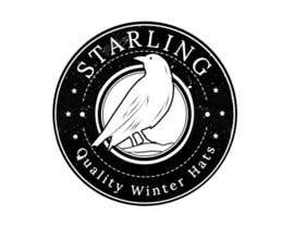 #102 for Redesign the logo for Starling winter hats company. af HagerAlaa