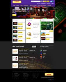 #2 for Design a Website Mockup for Gamerslab - a Gaming Website by kreativeminds