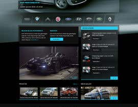 #68 cho Design a Website Mockup for a (chip)Tuning company bởi Pavithranmm