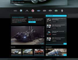#75 cho Design a Website Mockup for a (chip)Tuning company bởi Pavithranmm