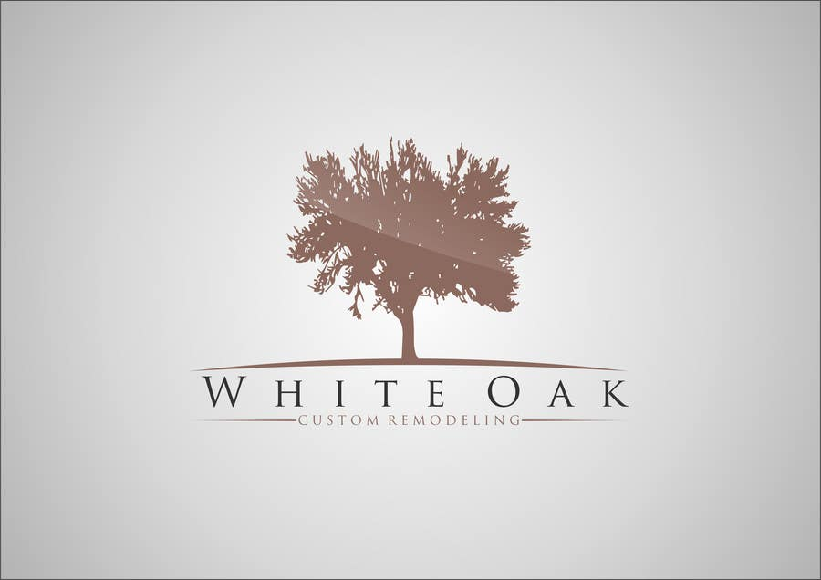 Kilpailutyö #1 kilpailussa Design a Logo for White Oak Custom Remodeling