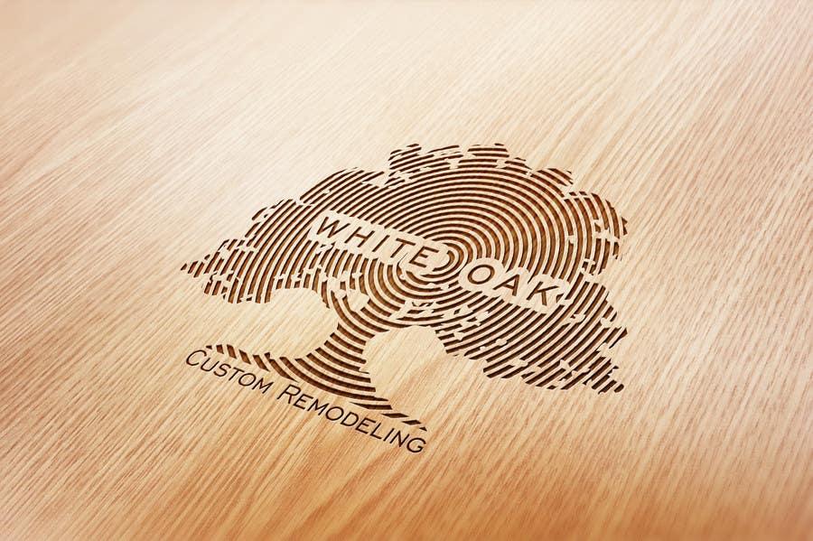 Kilpailutyö #8 kilpailussa Design a Logo for White Oak Custom Remodeling