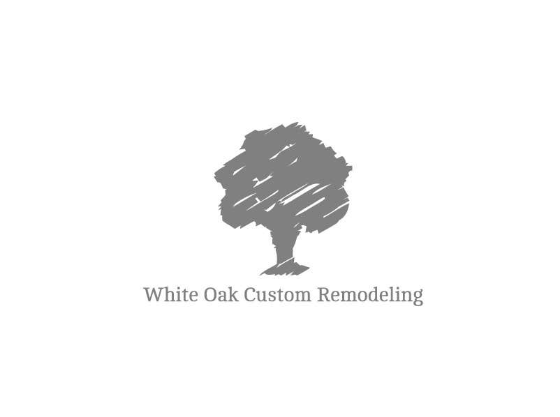 Kilpailutyö #72 kilpailussa Design a Logo for White Oak Custom Remodeling