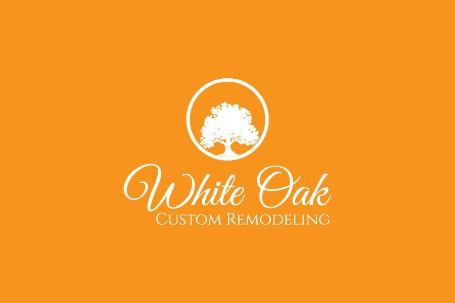 Konkurrenceindlæg #54 for Design a Logo for White Oak Custom Remodeling