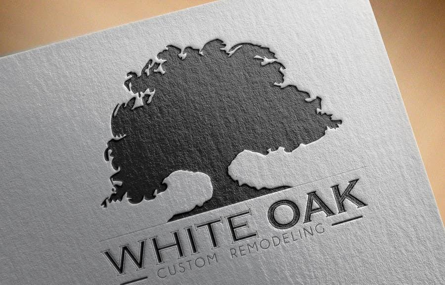 Kilpailutyö #17 kilpailussa Design a Logo for White Oak Custom Remodeling