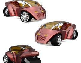 Nro 10 kilpailuun Industrial Concept Product Design for a Three-Wheeler EV käyttäjältä panjamon