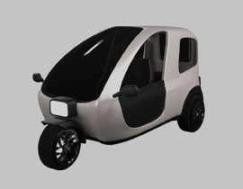 Nro 12 kilpailuun Industrial Concept Product Design for a Three-Wheeler EV käyttäjältä Ewahyu
