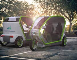 #17 untuk Industrial Concept Product Design for a Three-Wheeler EV oleh stoth